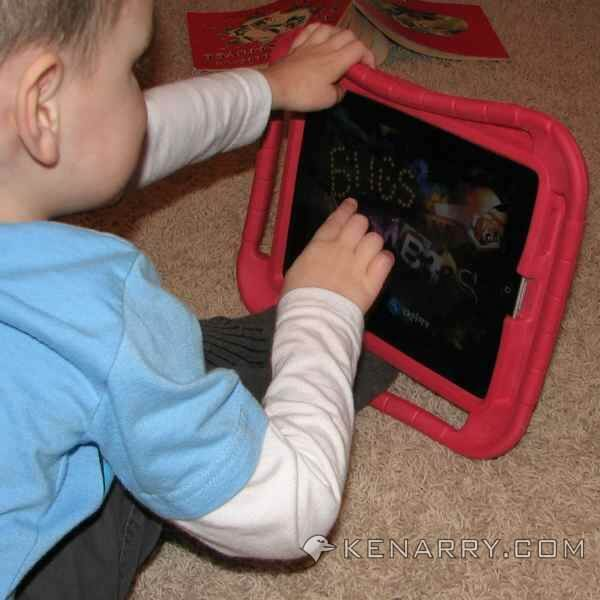 iPad Case for Kids: Product Review for Gripcase