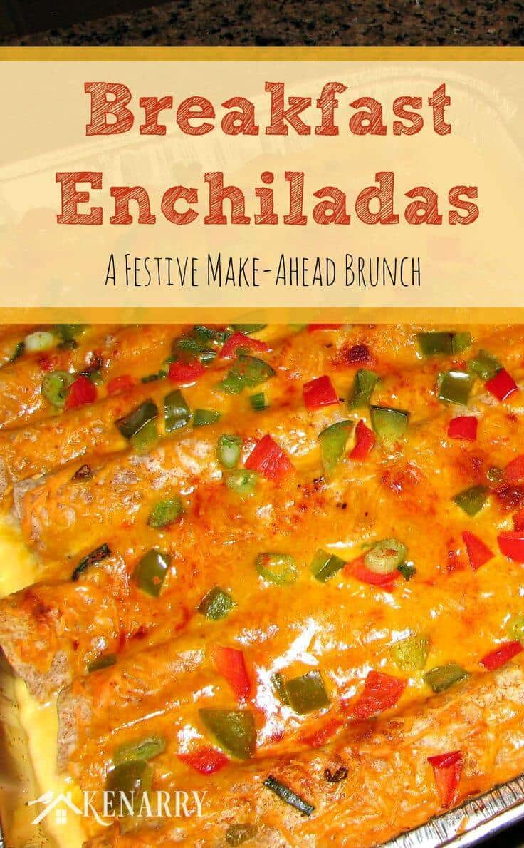 these festive christmas breakfast enchiladas adapted from a recipe on inspired taste should be
