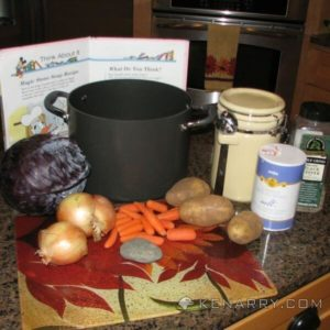 Magic Stone Soup, based on the book