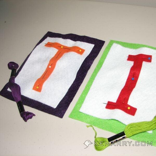 DIY Felt Birthday Banner - Kenarry.com