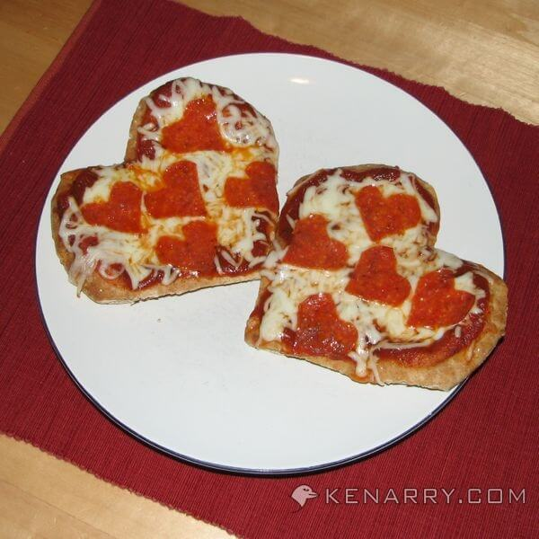 Heart Shaped Food for Kids: 4 Valentine's Day Ideas