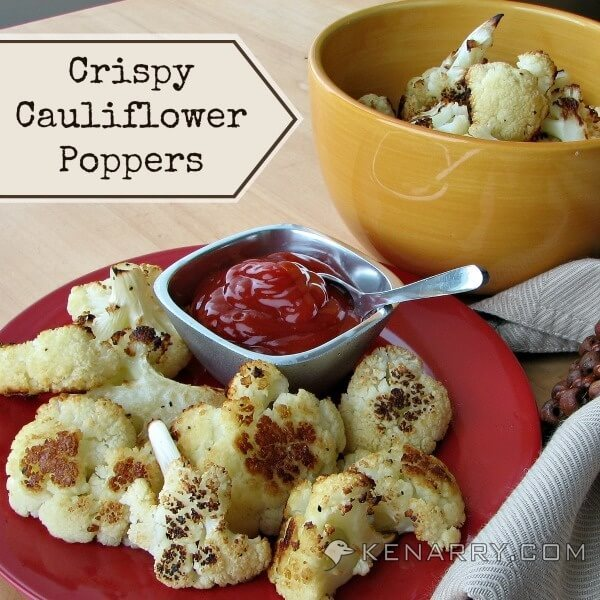 Baked Cauliflower Poppers: A Crispy Low-Carb Side Dish - Kenarry.com