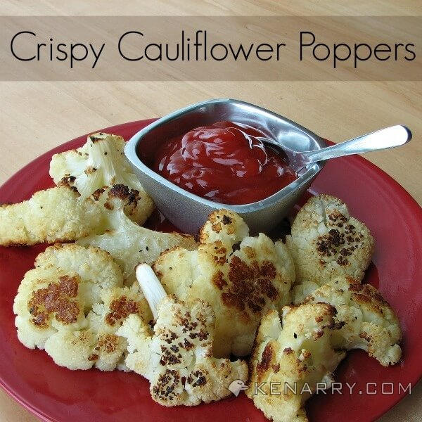 Crispy Cauliflower Poppers: A Low-Carb Baked Side Dish - Kenarry.com
