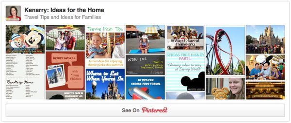Travel Tips and Ideas for Families on Pinterest. How to Survive a Theme Park with Small Children - Kenarry.com
