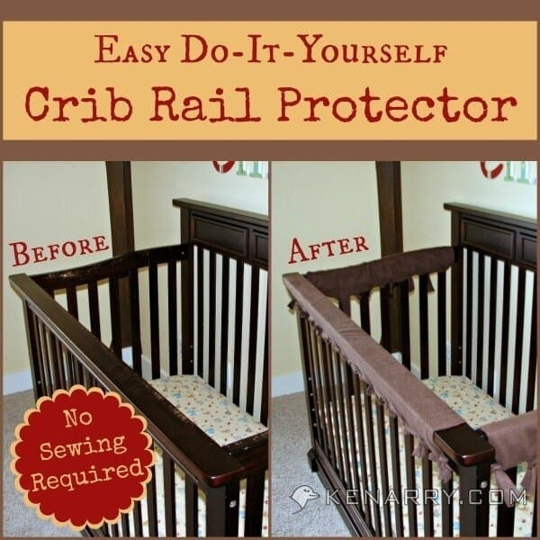 DIY Crib Rail Cover: Easy Idea With No Sewing Required
