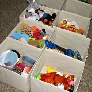 Toy Organization: 10 Easy Ways to Overcome Chaos - Kenarry.com