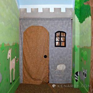 Castle Playroom Curtain: Making an Entrance - Kenarry.com