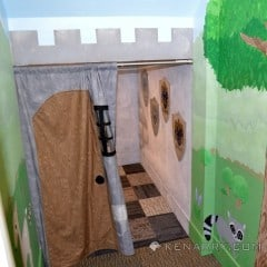 Castle Playroom Curtain: Making an Entrance - Kenarry.com