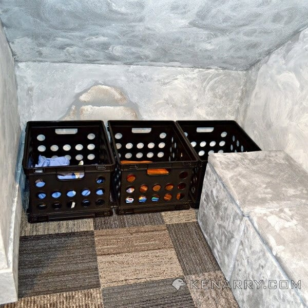 Castle Playroom Seating and Storage: A Place for Everything - Kenarry.com
