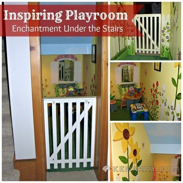 Children S And Kids Room Ideas Designs Inspiration: Castle Playroom Inspiration: A Whimsical Garden Playroom