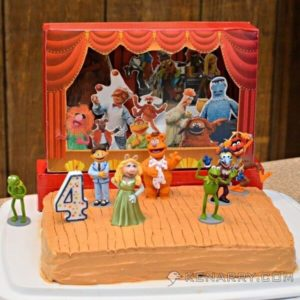 Muppet Birthday Cake: A Star-Studded Showstopping Stage - Kenarry.com