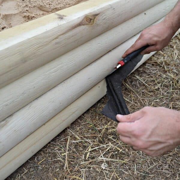DIY Wood Sandbox: Easy to Make with the New BLACK+DECKER AutoSense Drill - Kenarry.com