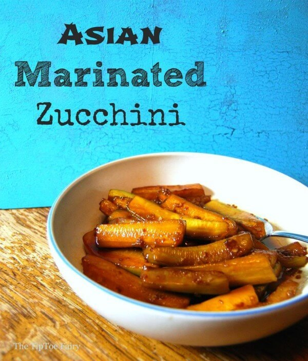 Asian Marinated Zucchini by The Tip Toe Fairy - Zucchini Recipes on Kenarry.com