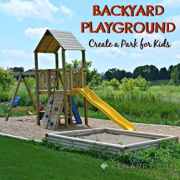 DIY Backyard Playground: How to Create a Park for Kids - Kenarry.com - DIY Backyard Playground: How To Create A Park For Kids