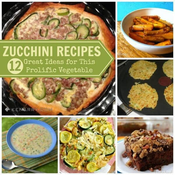 Zucchini Recipes: 12 Great Ideas for This Prolific Vegetable