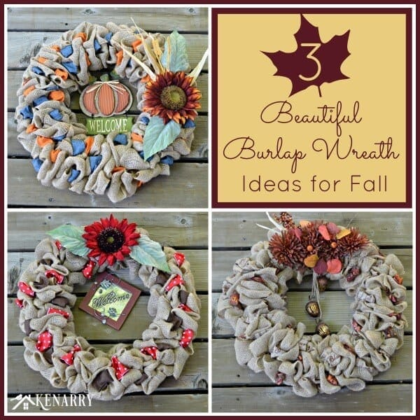 fall wreath craft ideas fall burlap wreaths 3 beautiful diy craft ideas 4429
