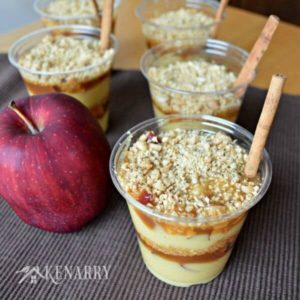 Caramel Apple Pudding Cups: A Sweet Treat for Fall