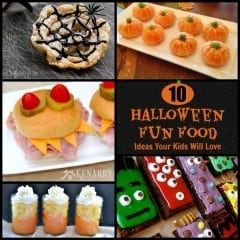 What fun food ideas for Halloween! My kids will love these!