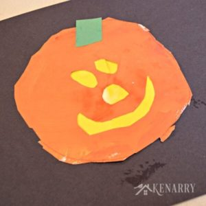 Preschool Pumpkin Painting: Halloween Jack O'Lanterns