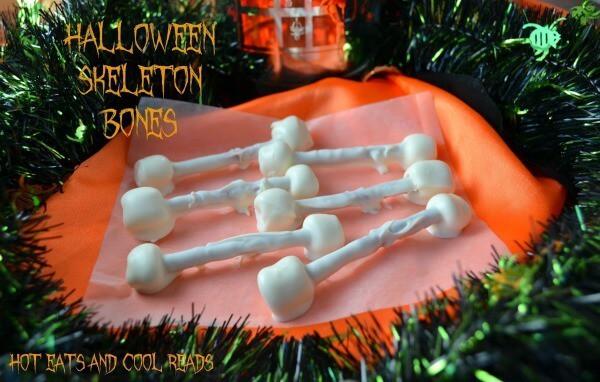 Halloween Skeleton Bones - Hot Eats and Cool Reads - Halloween Fun Food Ideas on Kenarry.com