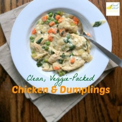 Clean, Veggie-Packed Chicken and Dumplings from Fresh Start Nutrition on Ideas for the Home by Kenarry™