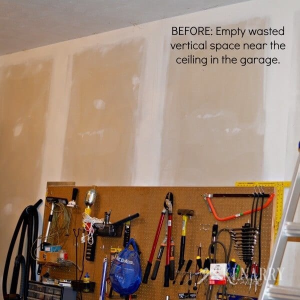 DIY Garage Storage: Great Idea For Ceiling Mounted Shelves In The Garage For  Better Seasonal