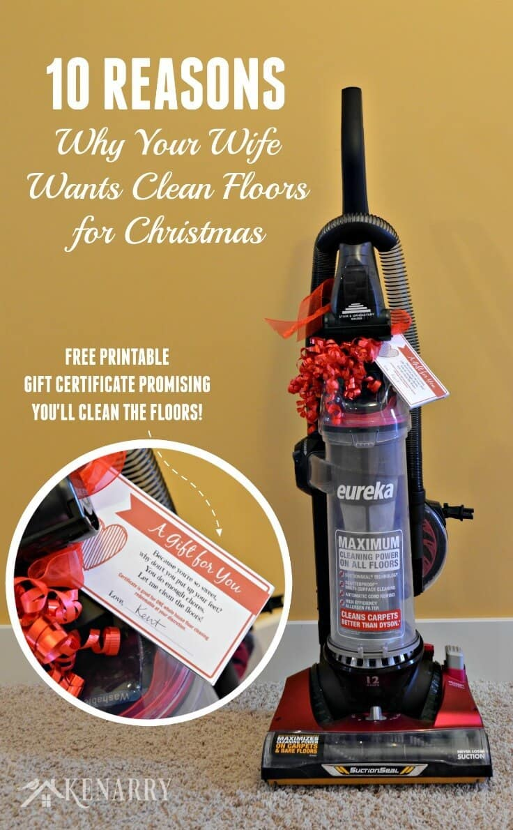 Clean Floors: What She Really Wants for Christmas