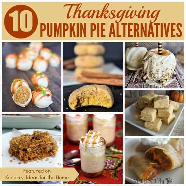 10 Pumpkin Pie Alternatives for Thanksgiving