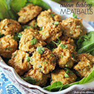 Asian Turkey Meatballs: A Lightened Up Recipe