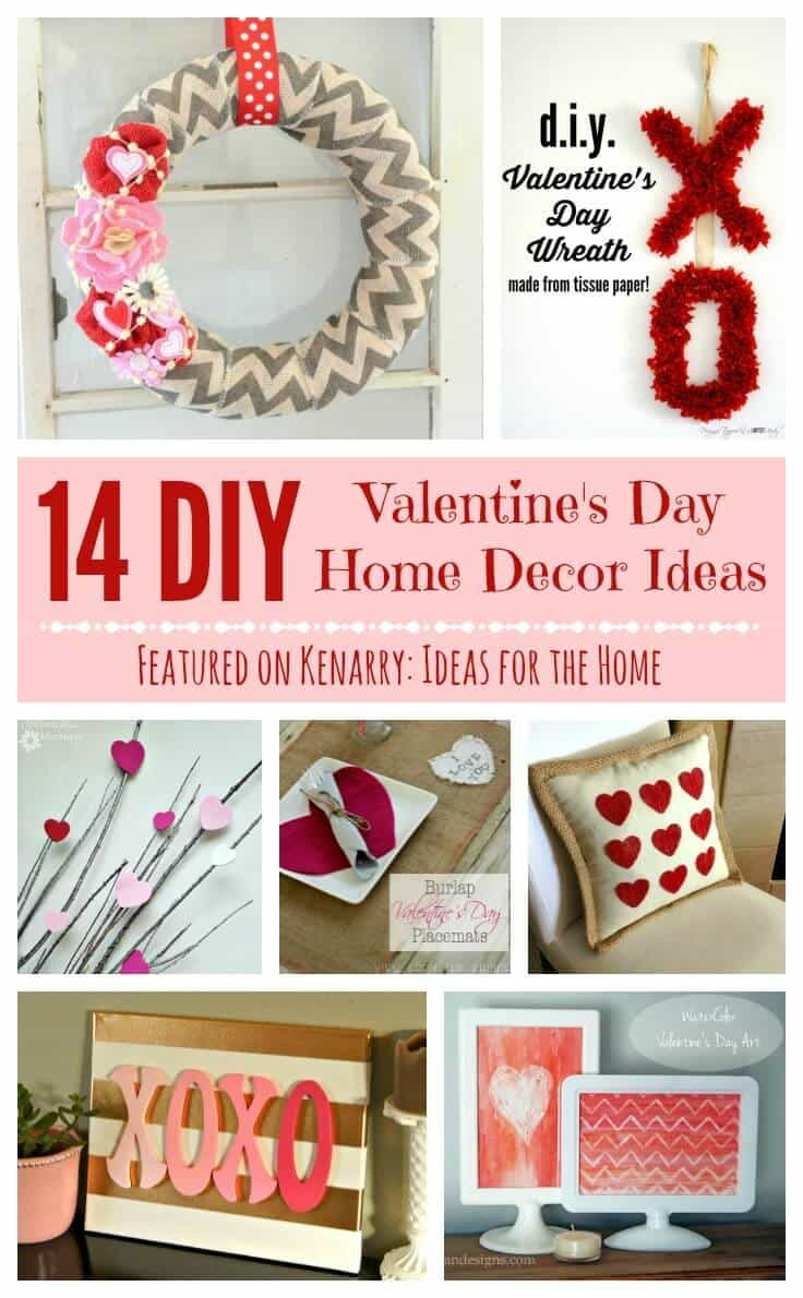 Valentine 39 s day home decor 14 beautiful diy ideas for Valentine day at home