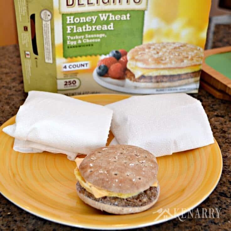 Breakfast Sandwiches For Kids A Delightfully Happy Idea