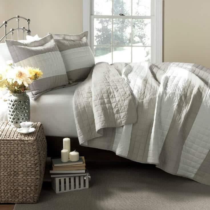 Bedroom ideas - Lush Decor Berlin 3 Piece Quilt Set