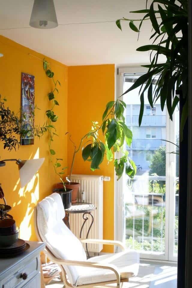 Mediterranean-inspired living room example -