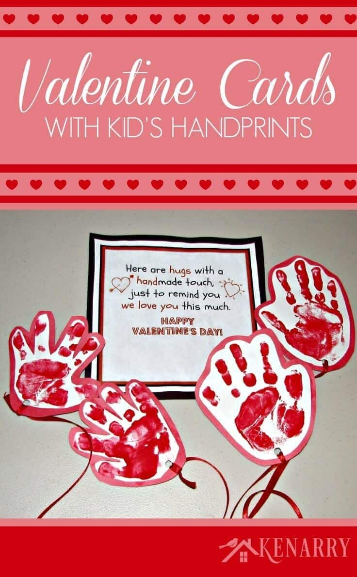 Kids Valentine Card Idea Sending a Long Distance Hug – Send a Valentines Card