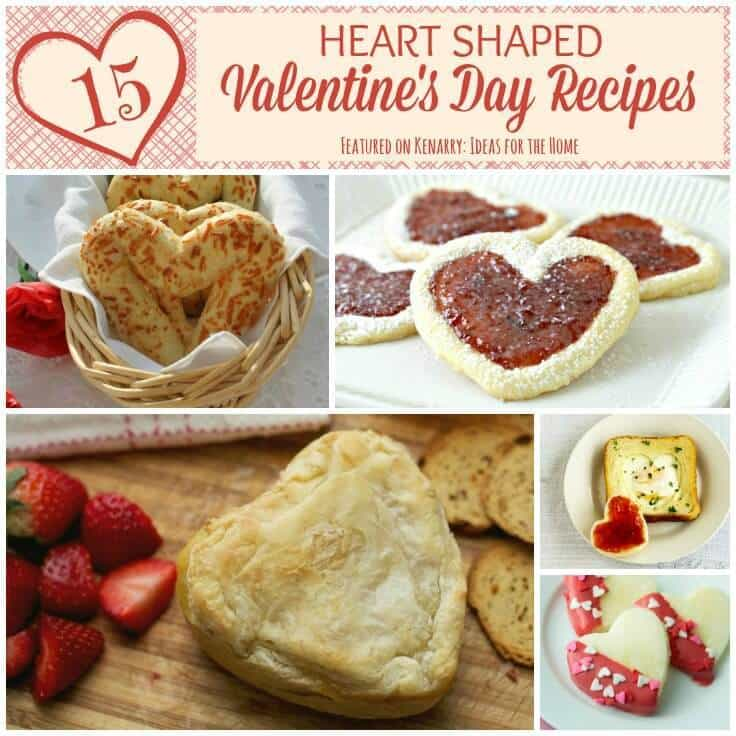 Valentine's Day Recipes: 15 Heart Shaped Food Ideas