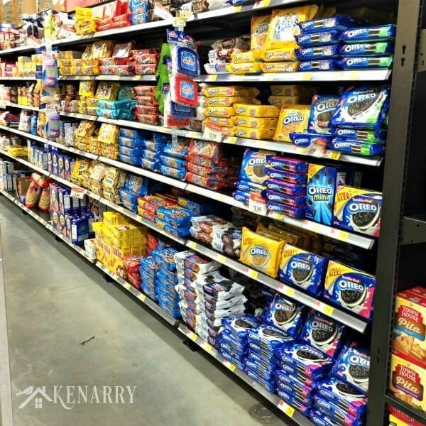 OREOs available at Walmart