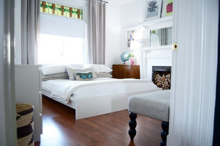 """Love these guest bedroom ideas - Photo credit: """"The House, Lately"""" copyright (c) 2012 Emily May on Flickr and made available under an Attribution 2.0 license"""