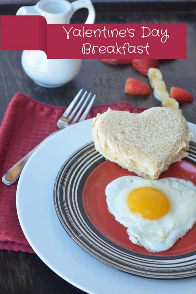 Valentine's Day Breakfast Recipe: Egg & Cheese for Your True Love - Our Family World featured on Ideas for the Home by Kenarry™
