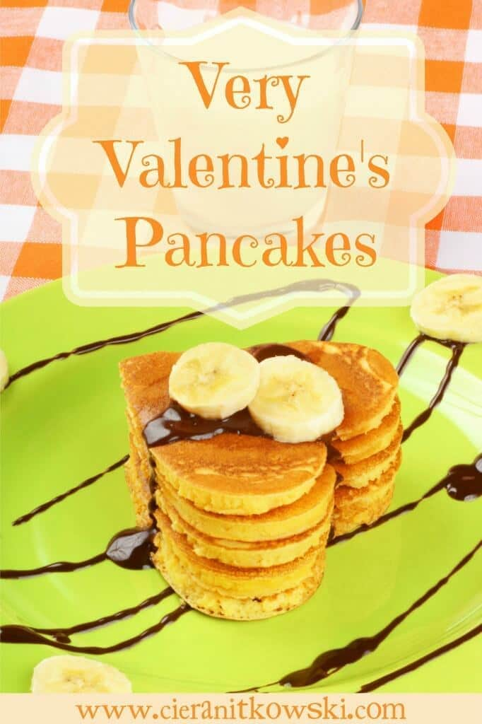 Very Valentine Pancakes - Ciera Nitkowski featured on Ideas for the Home by Kenarry®