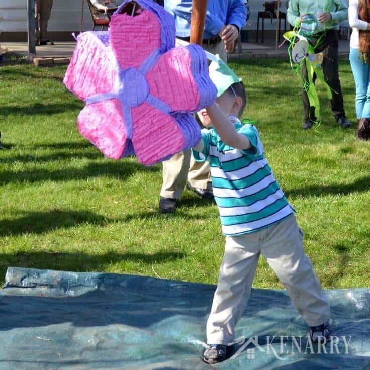 These are such fun ideas for creating memorable family traditions at your Easter party! Coloring eggs, Easter baskets, bunny cookies, an egg hunt and more!