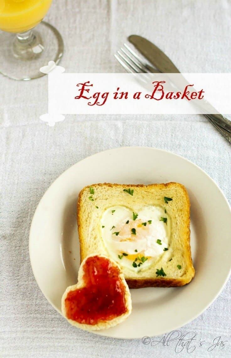 Egg in a Basket - All That's Jas featured on Ideas for the Home by Kenarry™