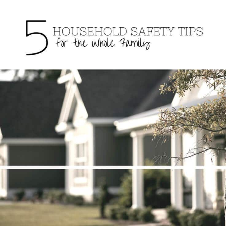 How safe are our homes really? 5 great tips to keep your home safe for the whole family.