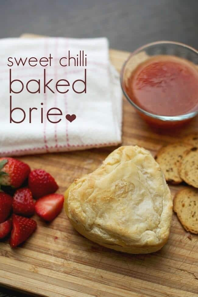 Unique Sweet Chilli Baked Brie - Spaceships and Laser Beams featured on Kenarry: Ideas for the Home