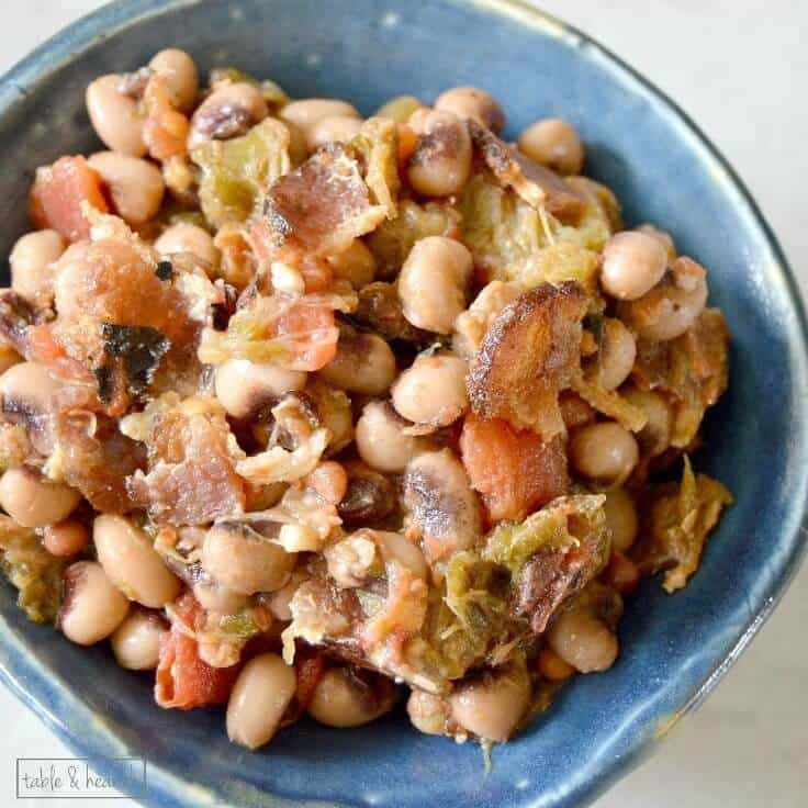 Quick and Easy Hoppin' John Side Dish
