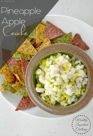 0 apple ceviche