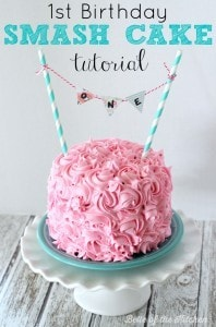 1st Birthday Smash Cake Tutorial