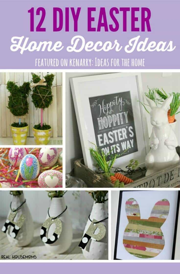 Easter Home Decor 12 Beautiful Diy Ideas