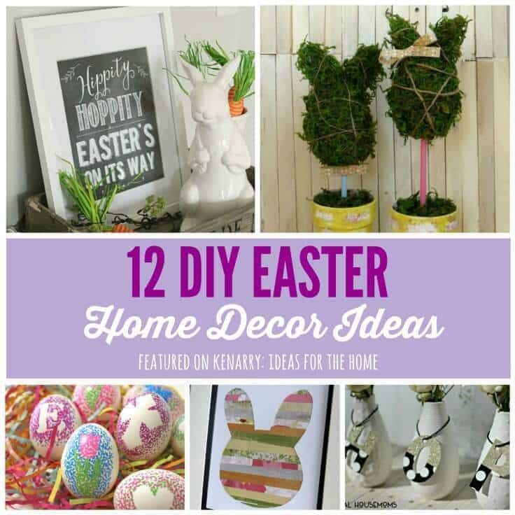 Easter home decor 12 beautiful diy ideas for Diy easter room decor