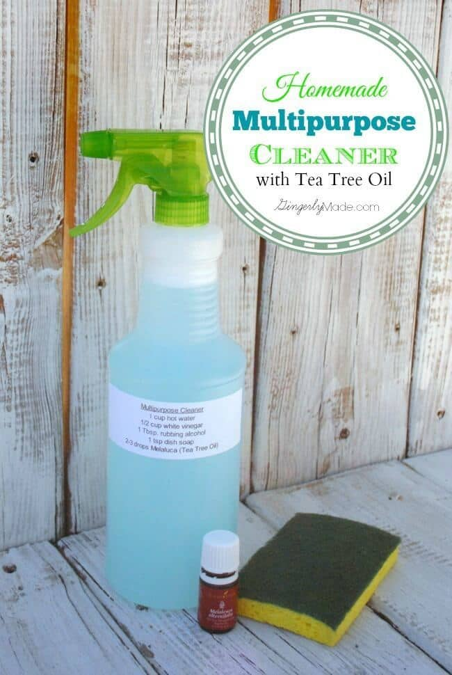 Multipurpose Spray Cleaner – Gingerly Made featured at Ideas for the Home by Kenarry®