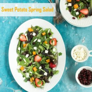 Sweet Potato Spring Salad - All that's Jas for Kenarry.com
